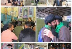 گزارش تصویری,اولین نماز جمعه سال,خبرلنده,امام جمعه,الهی نیاشهرستان لنده
