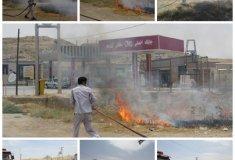 انفجار,آتش سوزی,خطر ,خبرلنده,شهرستان لنده,پمپ گاز,پمپ بنزین,جایگاه CNG,قبل از انقلاب,اخبار لنده