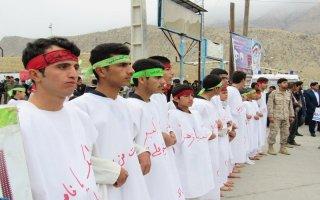 از پوشیدن کفن تا حضور یکی از نامزدهای انتخاباتی مجلس دهم در راهپیمایی+عکس